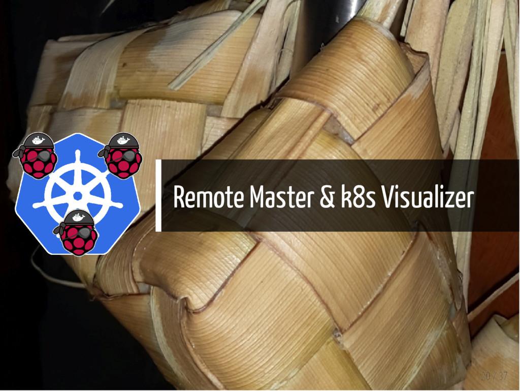 Remote Master & k8s Visualizer 20 / 37