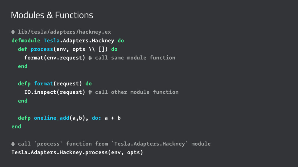 Modules & Functions # lib/tesla/adapters/hackne...