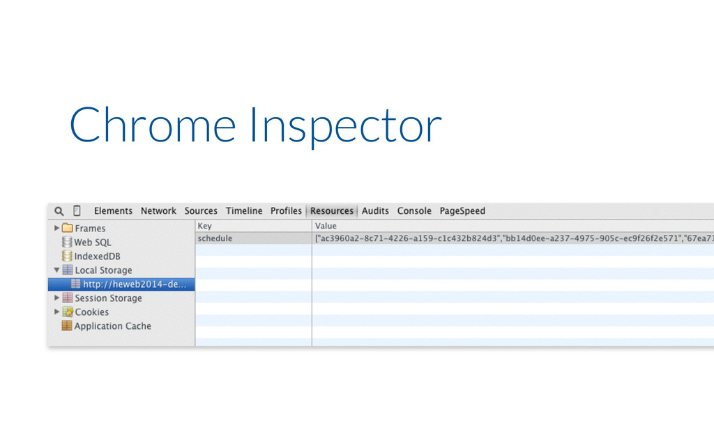 Chrome Inspector