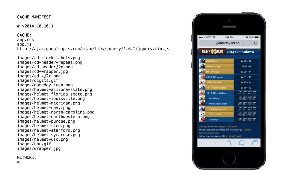 CACHE MANIFEST # v2014.10.10.1 CACHE: app.css a...