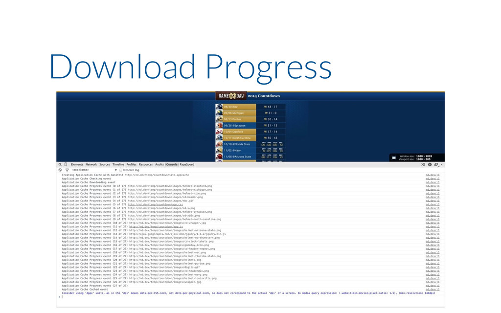 Download Progress