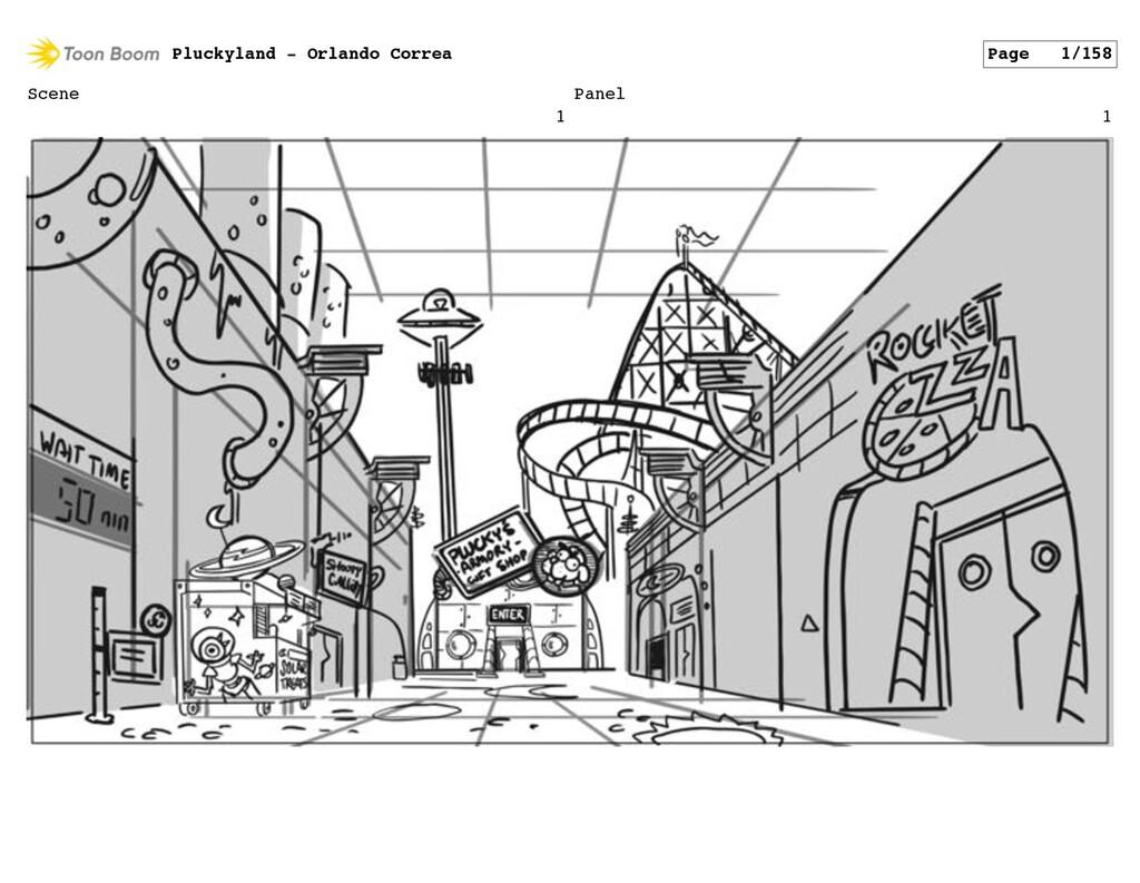 Scene 1 Panel 1 Pluckyland - Orlando Correa Pag...