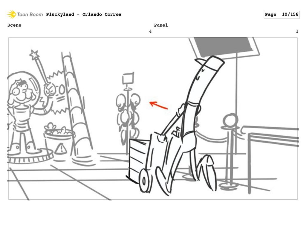 Scene 4 Panel 1 Pluckyland - Orlando Correa Pag...