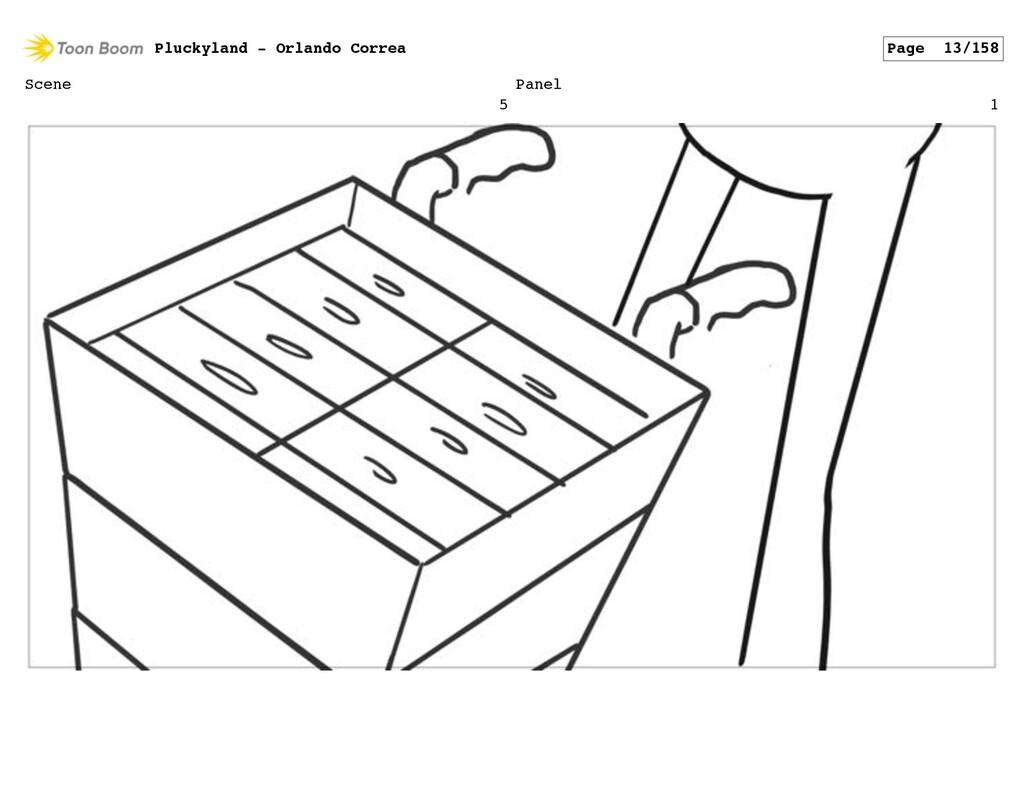 Scene 5 Panel 1 Pluckyland - Orlando Correa Pag...