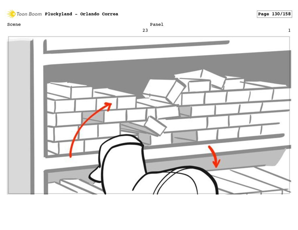 Scene 23 Panel 1 Pluckyland - Orlando Correa Pa...