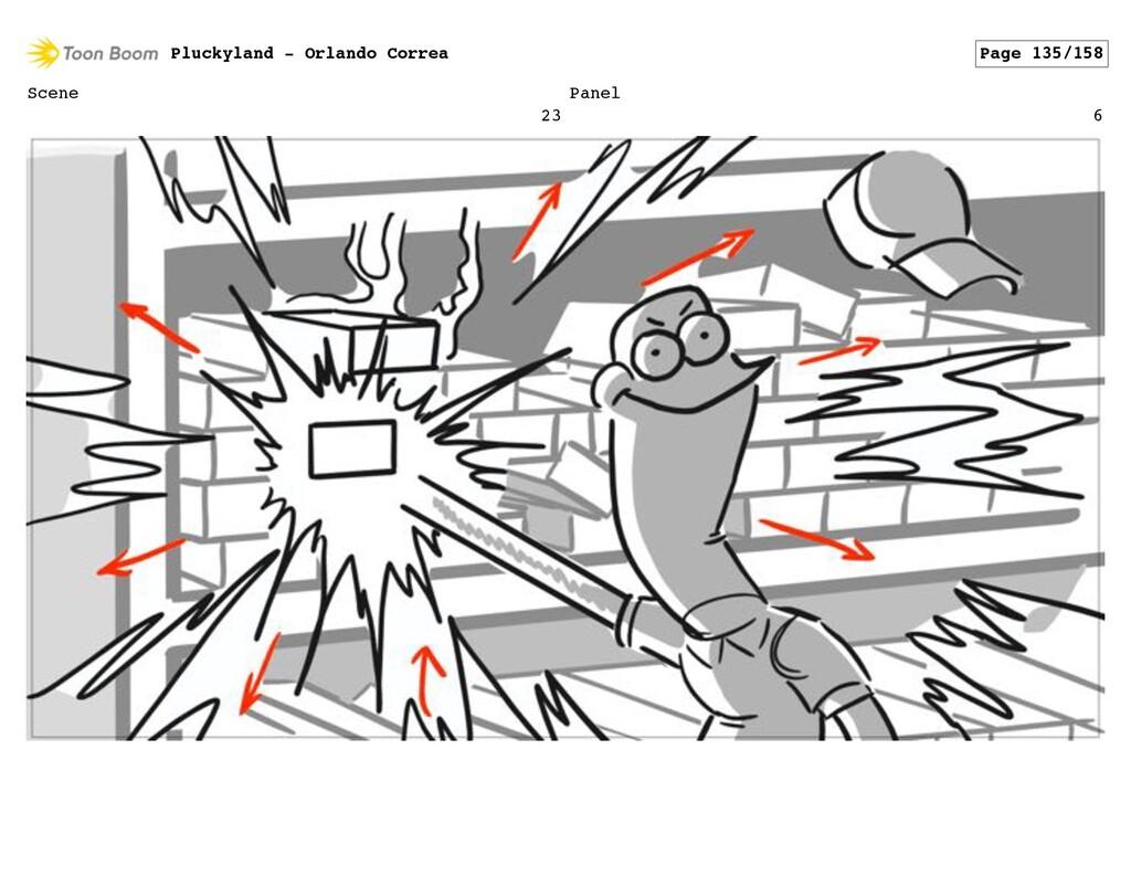 Scene 23 Panel 6 Pluckyland - Orlando Correa Pa...