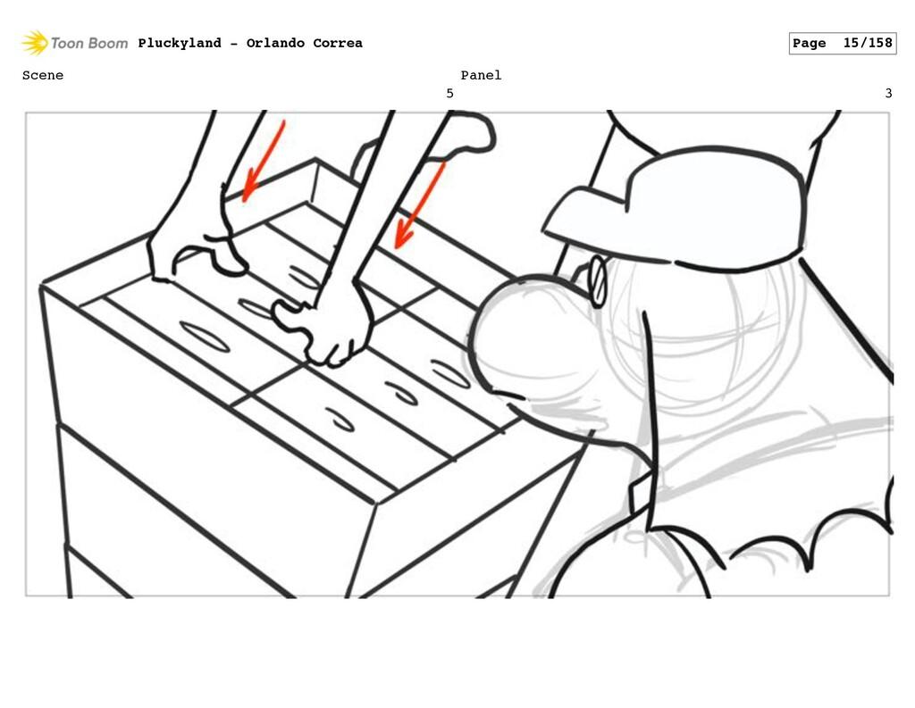 Scene 5 Panel 3 Pluckyland - Orlando Correa Pag...