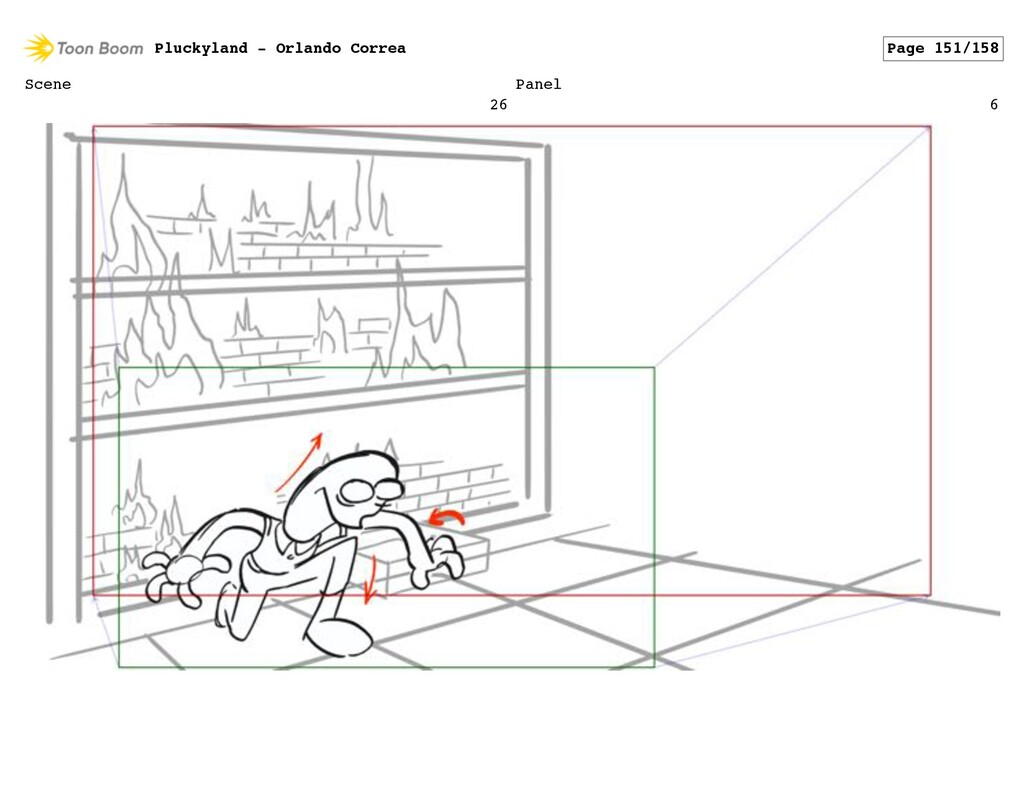 Scene 26 Panel 6 Pluckyland - Orlando Correa Pa...