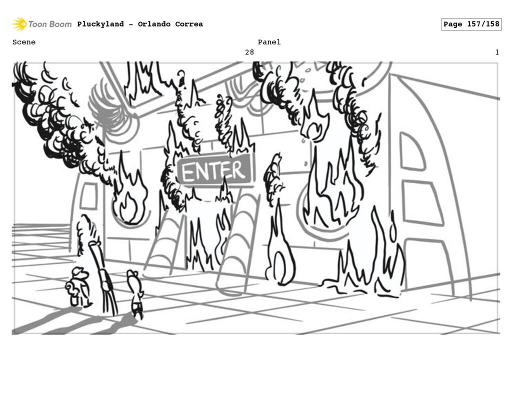 Scene 28 Panel 1 Pluckyland - Orlando Correa Pa...