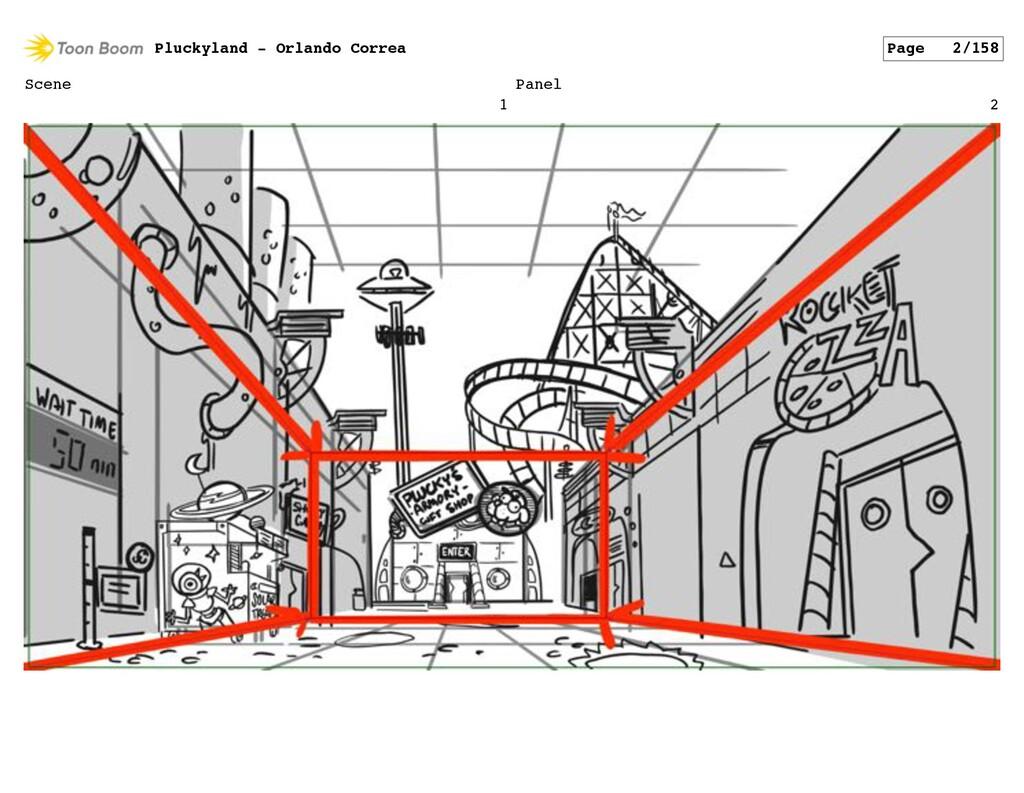 Scene 1 Panel 2 Pluckyland - Orlando Correa Pag...