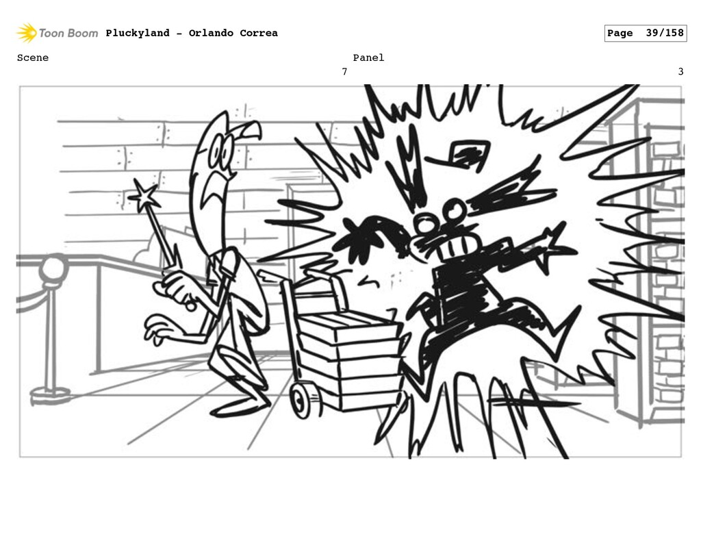 Scene 7 Panel 3 Pluckyland - Orlando Correa Pag...