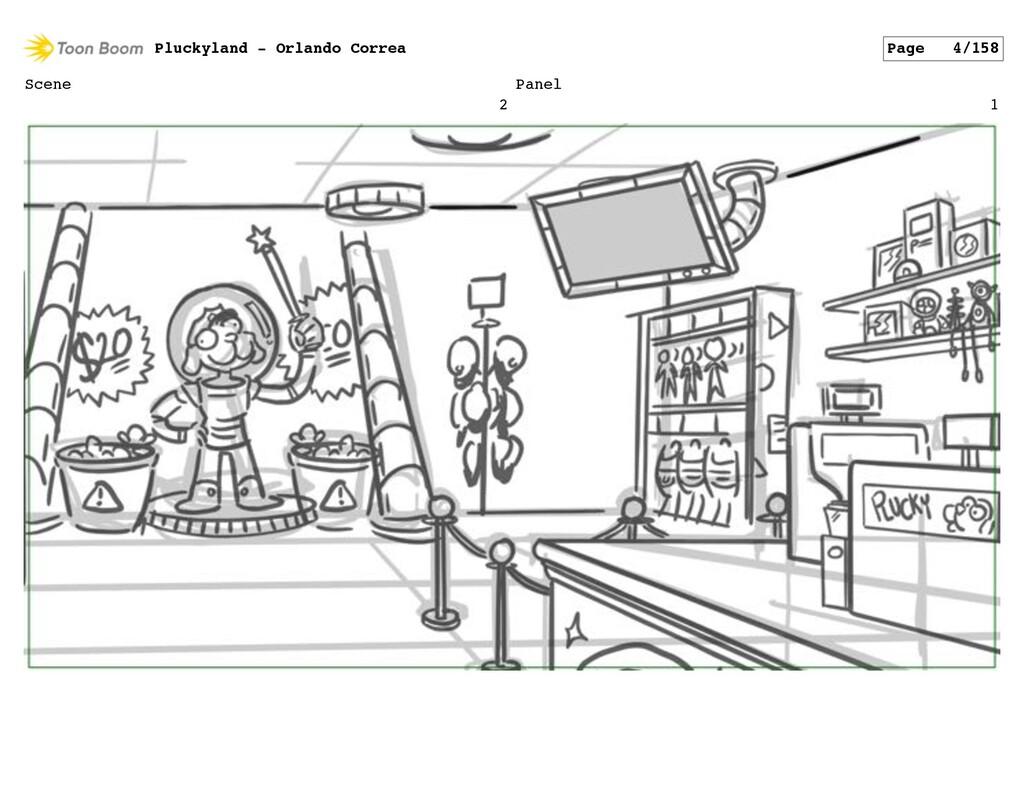 Scene 2 Panel 1 Pluckyland - Orlando Correa Pag...