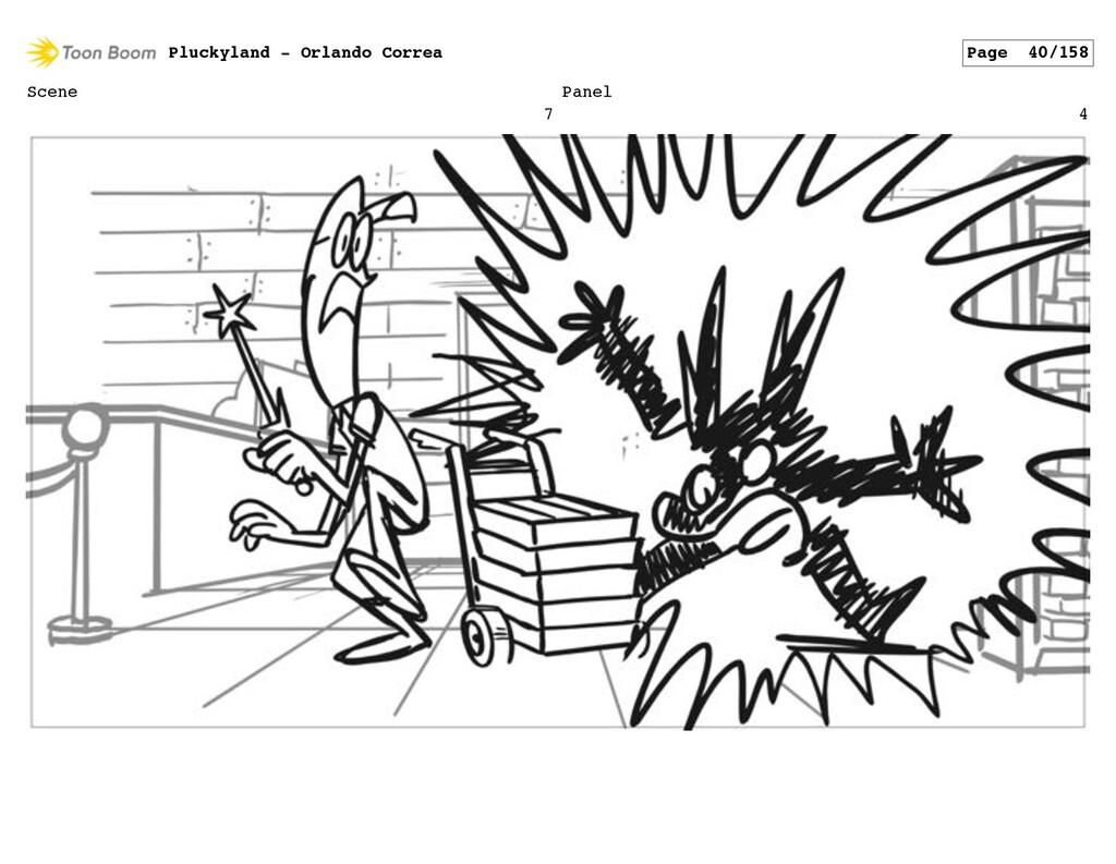 Scene 7 Panel 4 Pluckyland - Orlando Correa Pag...