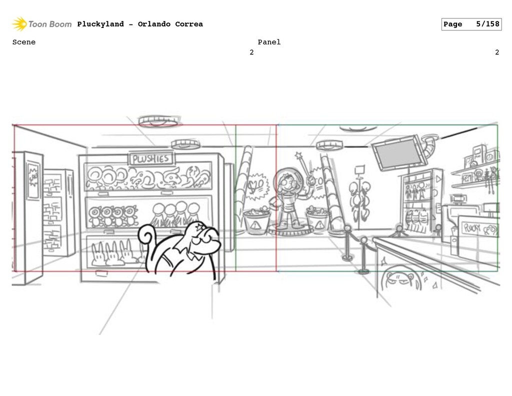 Scene 2 Panel 2 Pluckyland - Orlando Correa Pag...