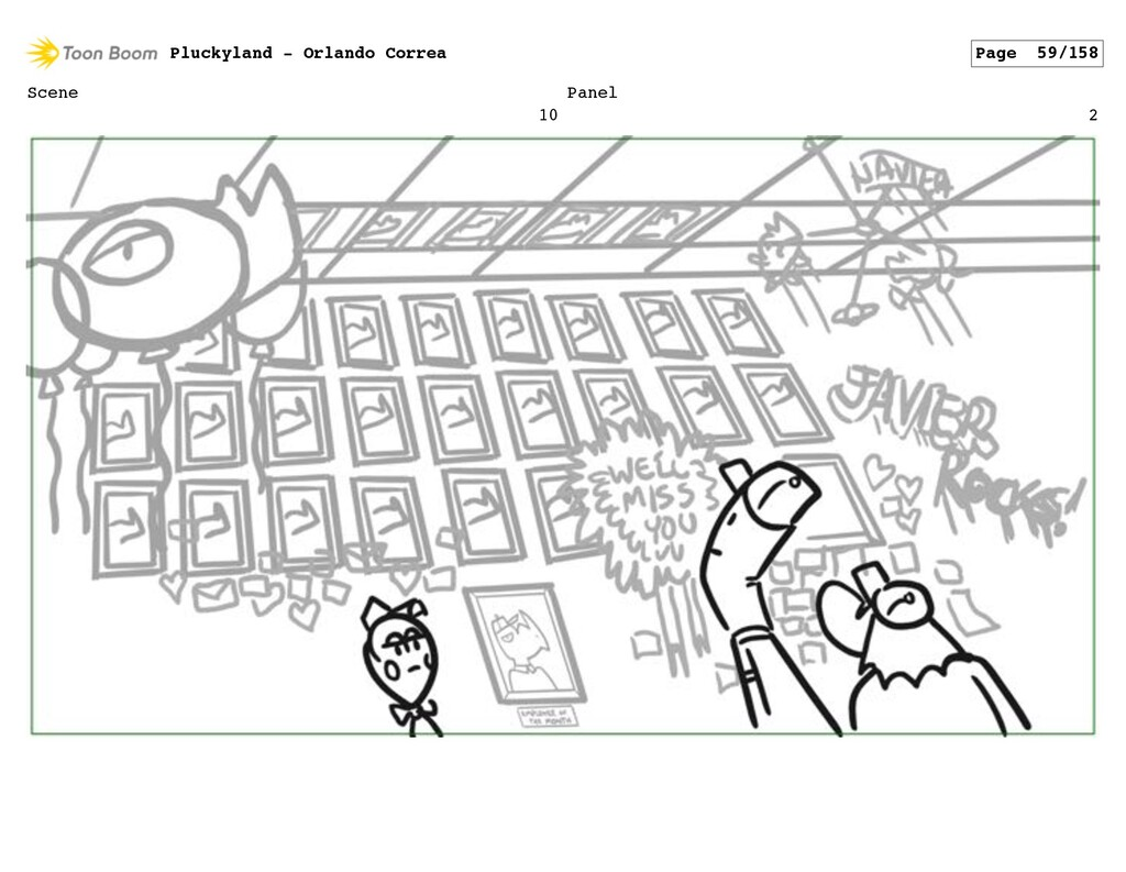 Scene 10 Panel 2 Pluckyland - Orlando Correa Pa...