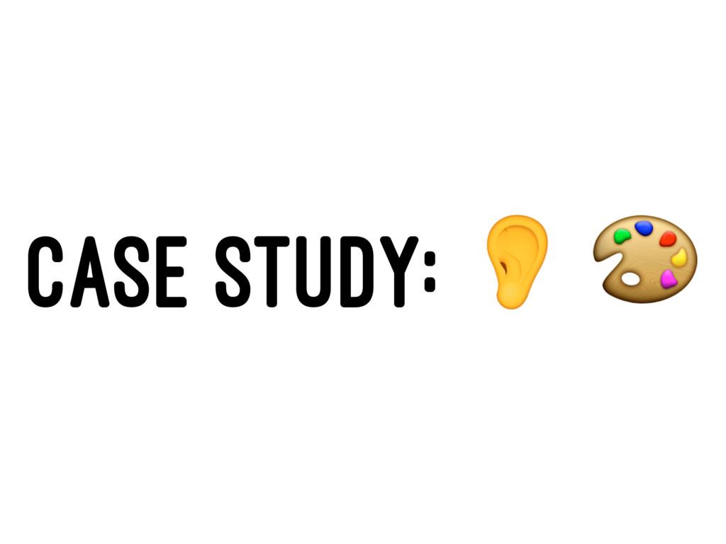 """CASE STUDY: ! """""""