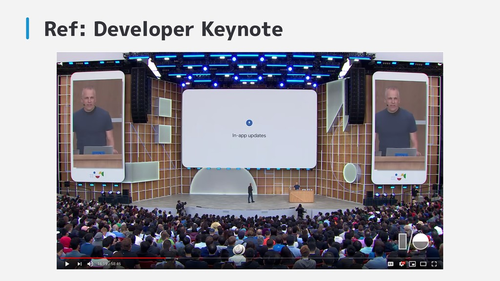 Ref: Developer Keynote