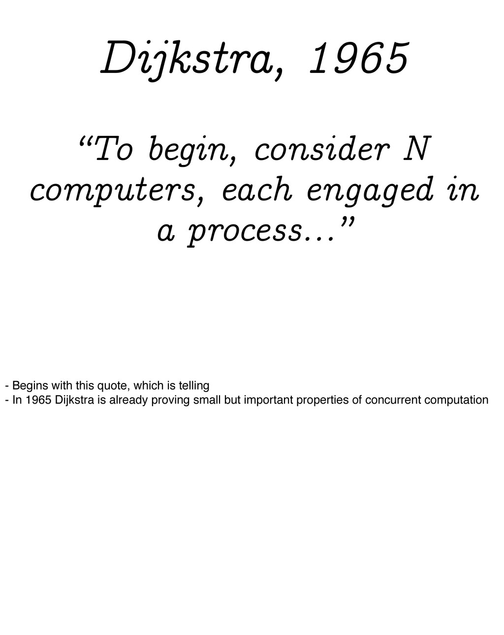"""""""To begin, consider N computers, each engaged i..."""