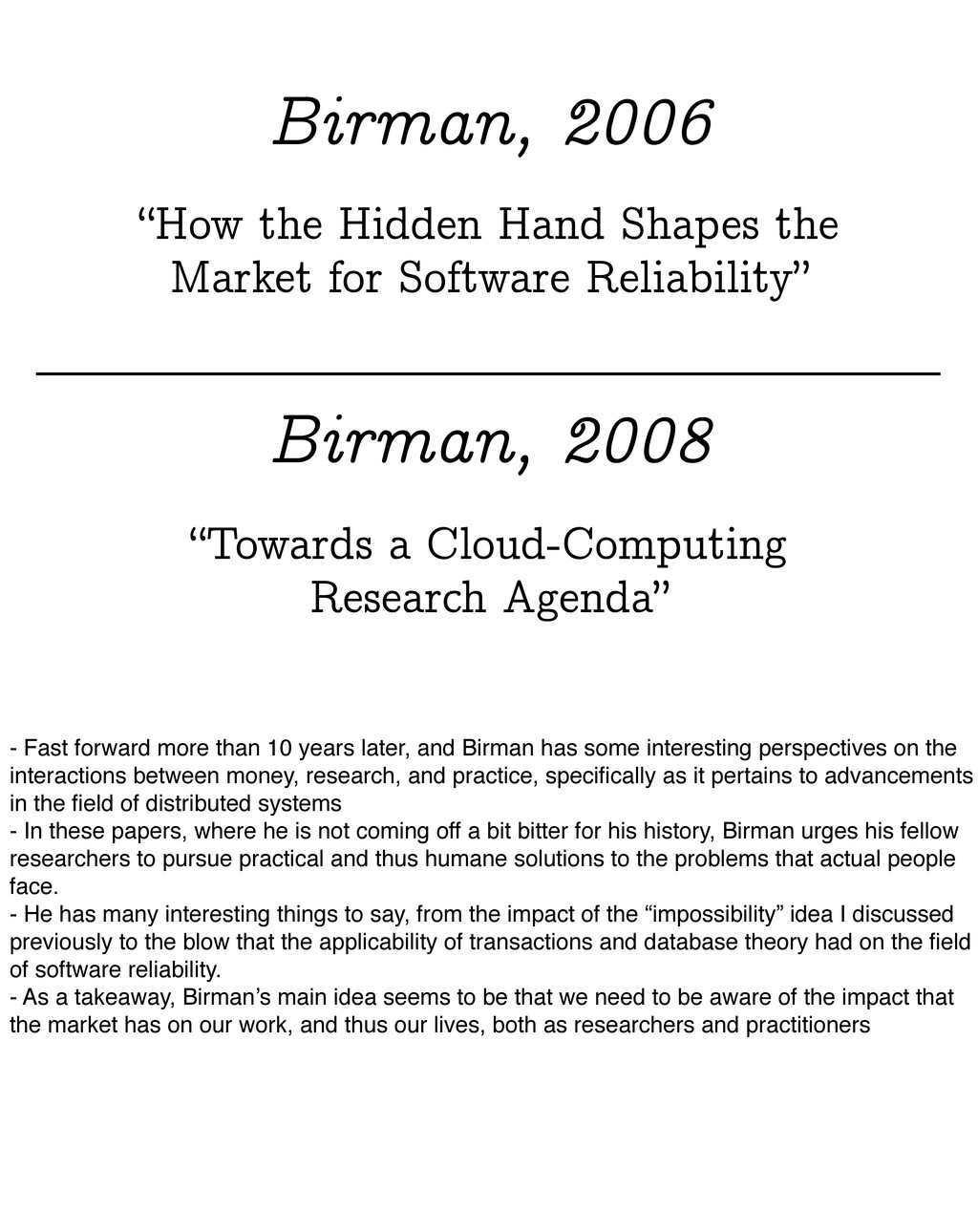 """""""How the Hidden Hand Shapes the Market for Soft..."""