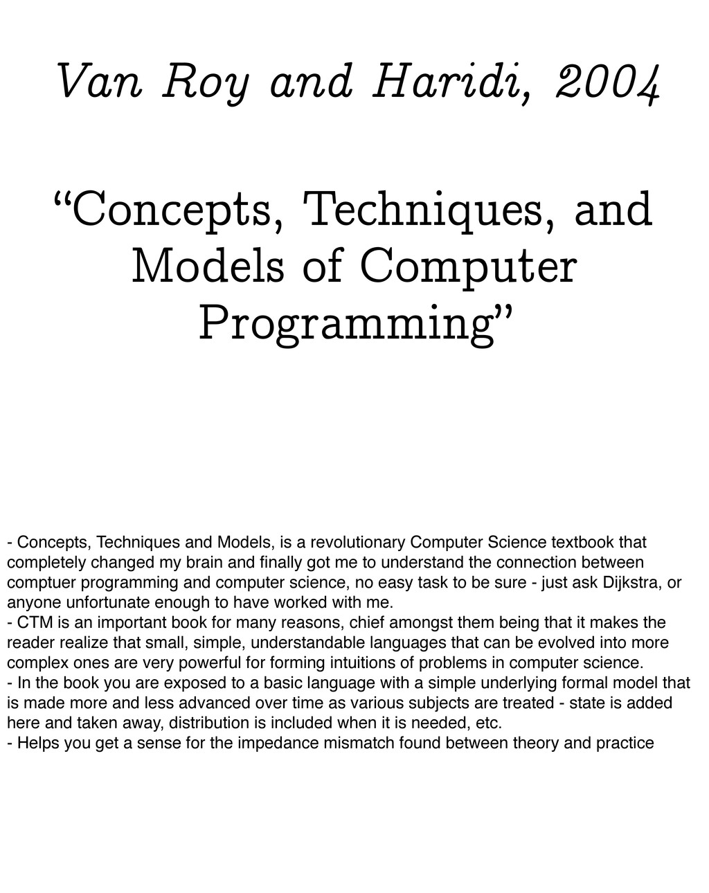 """""""Concepts, Techniques, and Models of Computer P..."""