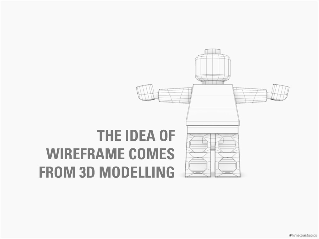 @hjmediastudios THE IDEA OF WIREFRAME COMES FRO...