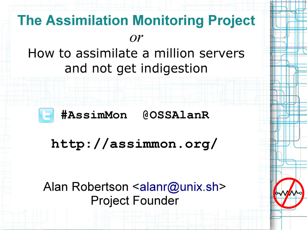 The Assimilation Monitoring Project or How to a...