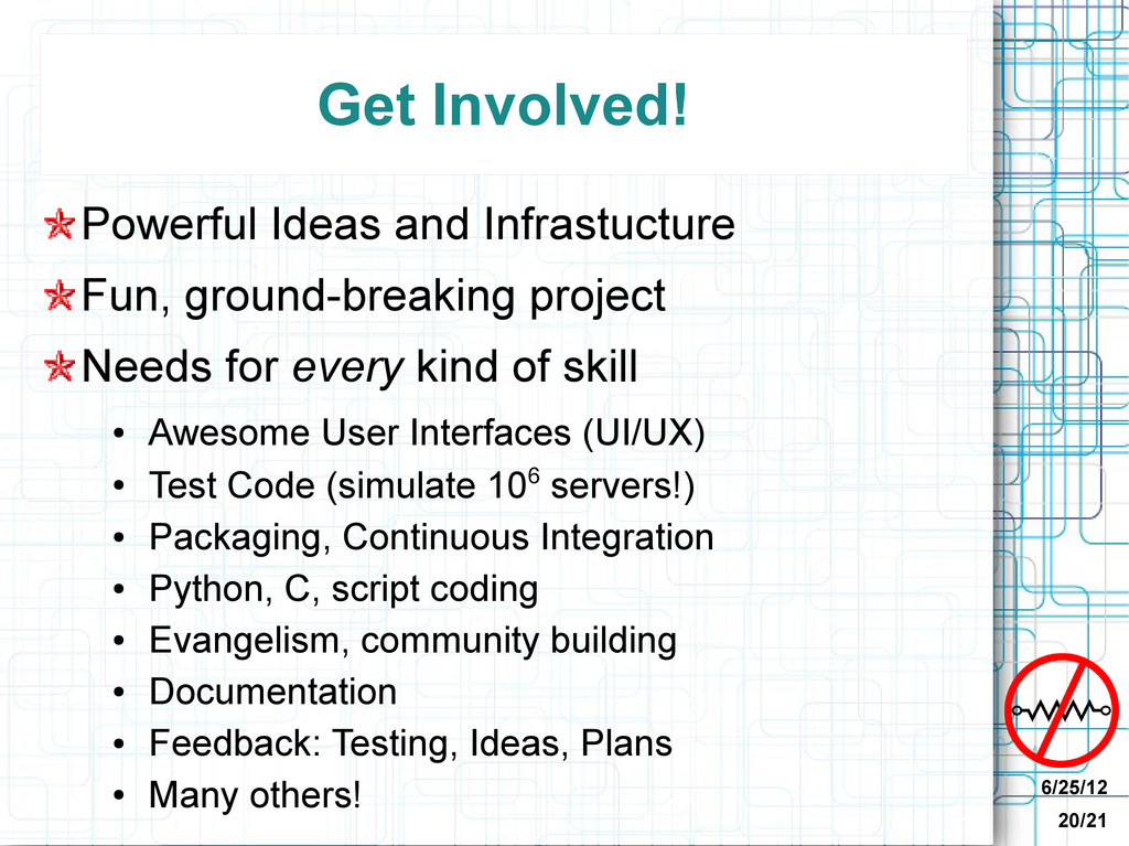 6/25/12 20/21 Get Involved! Powerful Ideas and ...