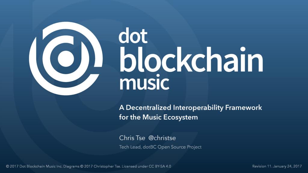 music dot blockchain A Decentralized Interopera...