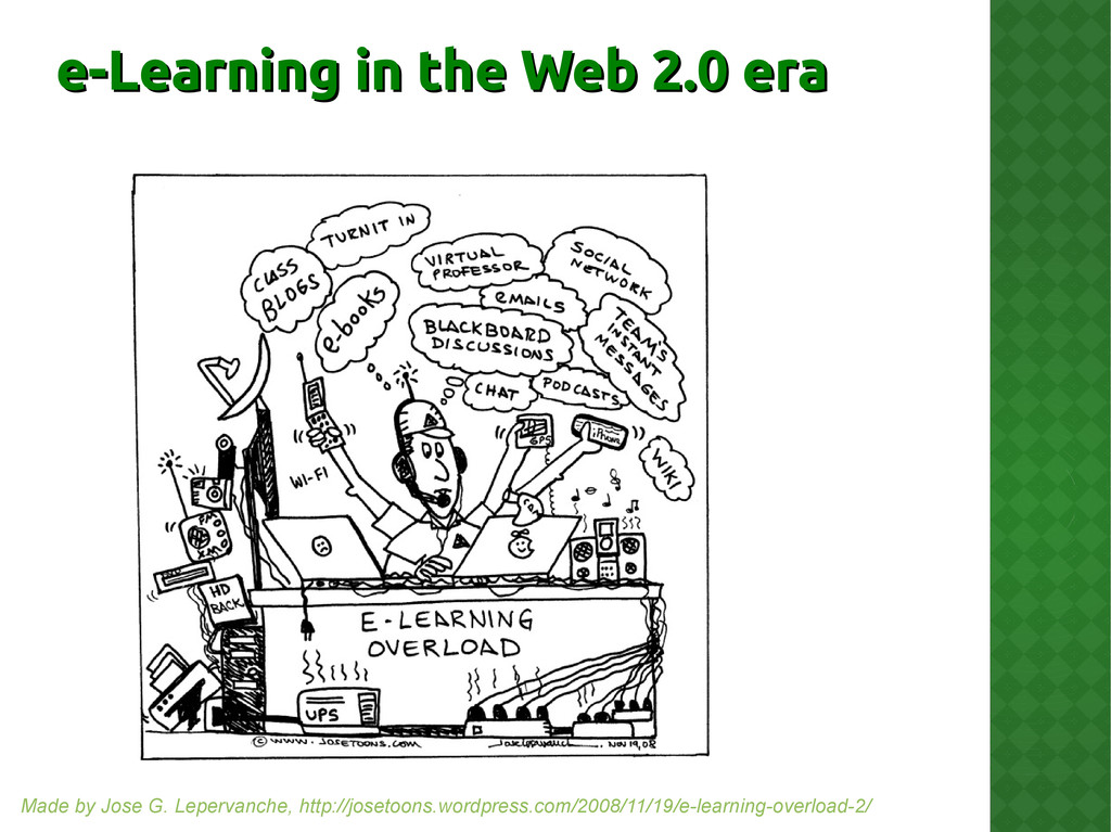 e-Learning in the Web 2.0 era e-Learning in the...