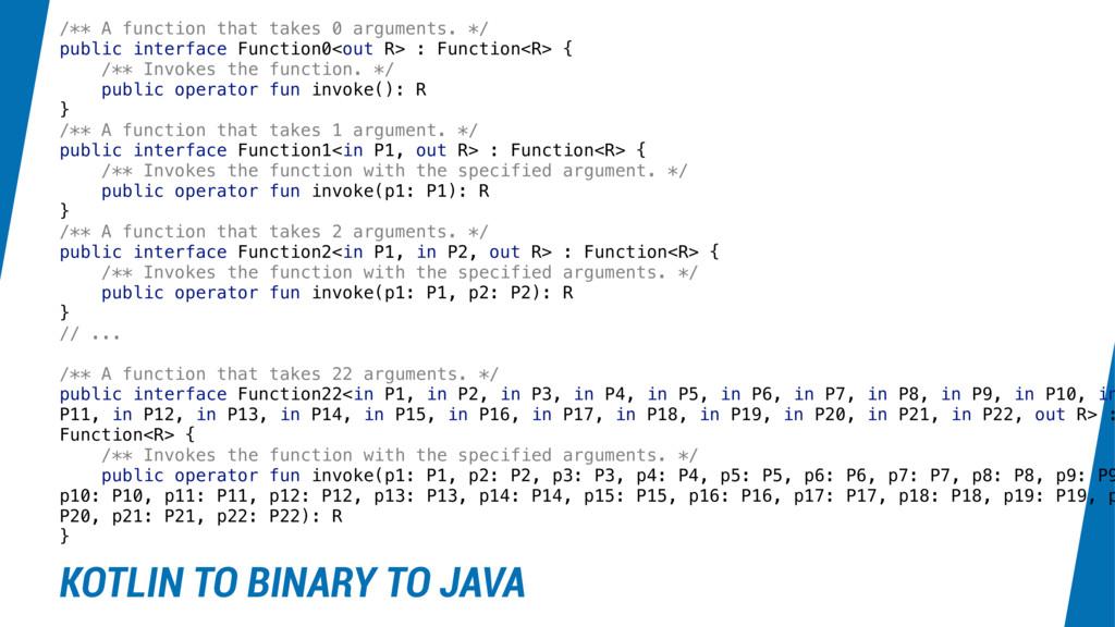 /** A function that takes 0 arguments. */ publi...