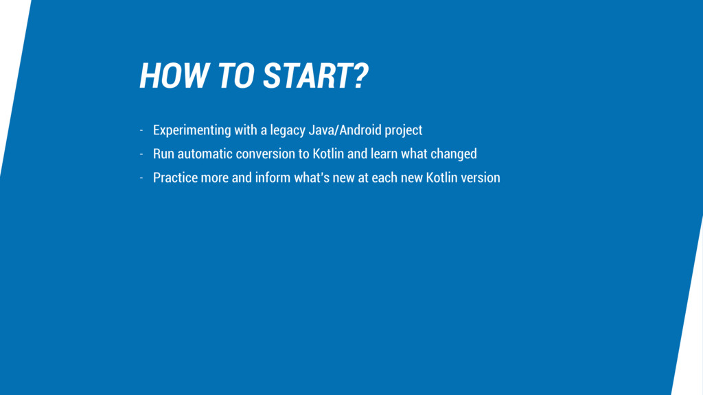 HOW TO START? - Experimenting with a legacy Jav...