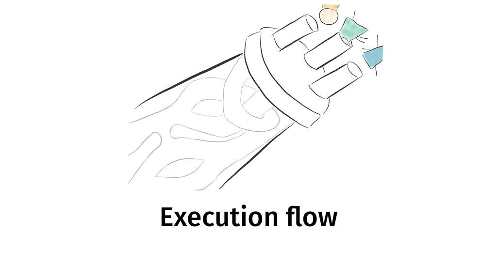Execution flow