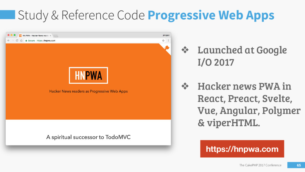 Study & Reference Code Progressive Web Apps The...