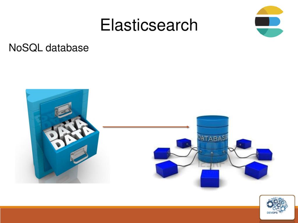 Elasticsearch NoSQL database