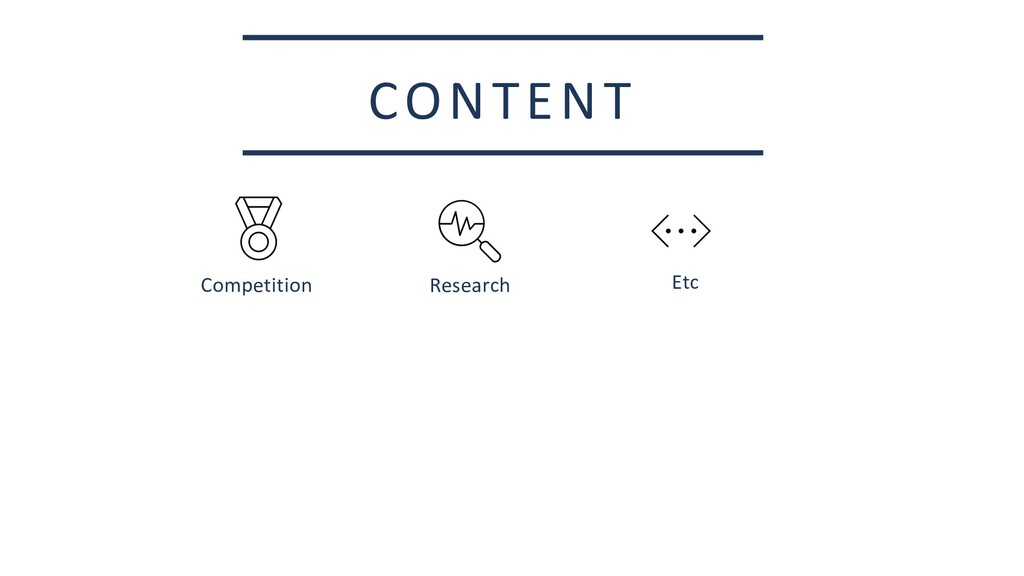 CONTENT Etc Competition Research