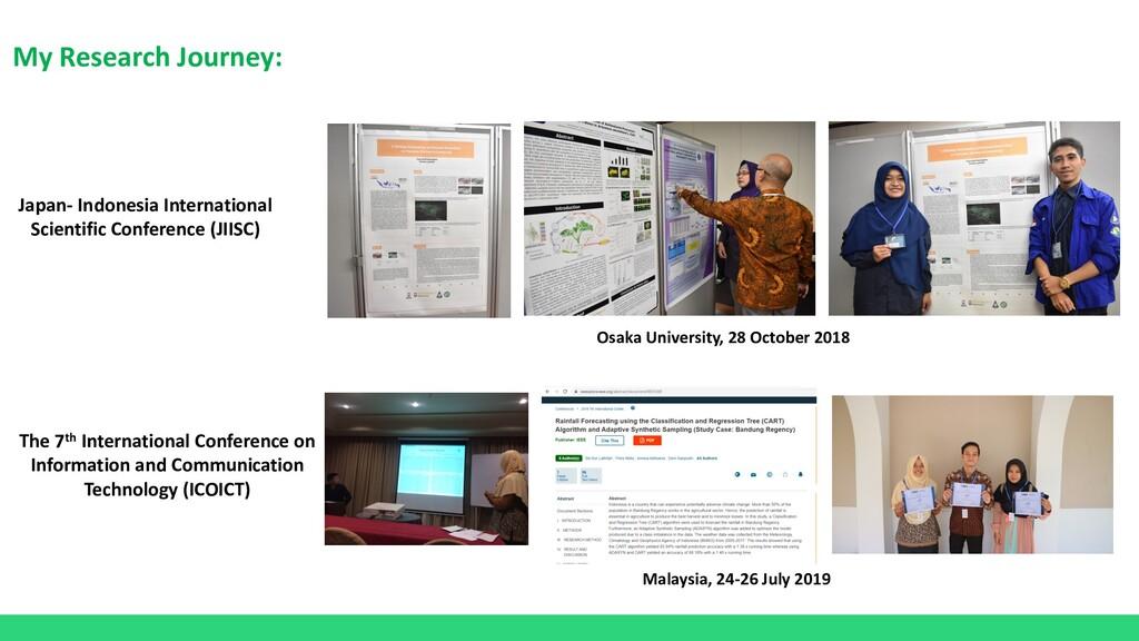 My Research Journey: Japan- Indonesia Internati...