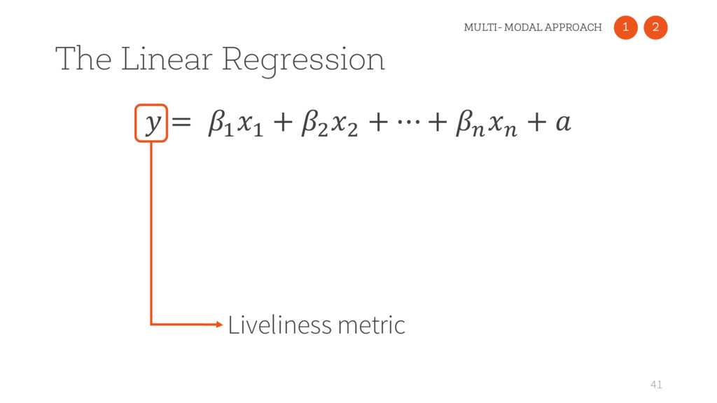 = : : + ) ) + ⋯ + > > +  The Linear Regression...