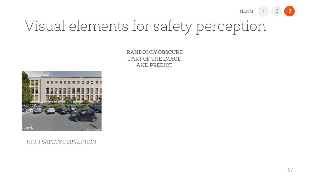 1 2 3 Visual elements for safety perception 57 ...