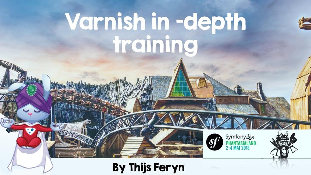 By Thijs Feryn Varnish in -depth training