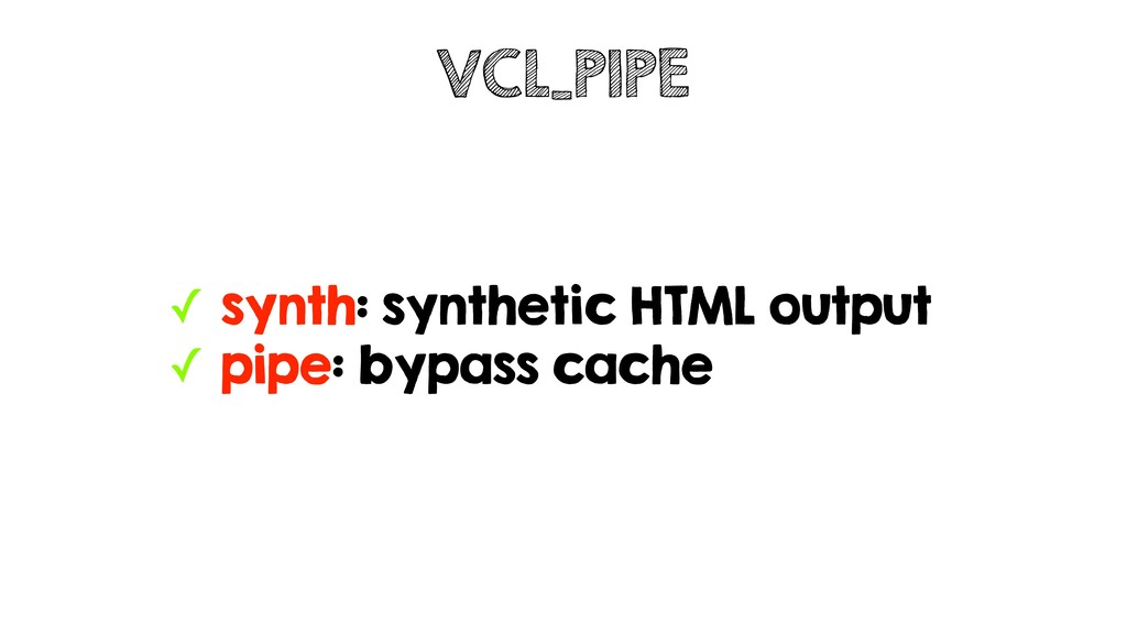 ✓ synth: synthetic HTML output ✓ pipe: bypass c...