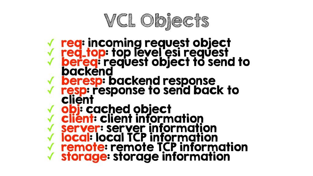 ✓ req: incoming request object ✓ req_top: top l...