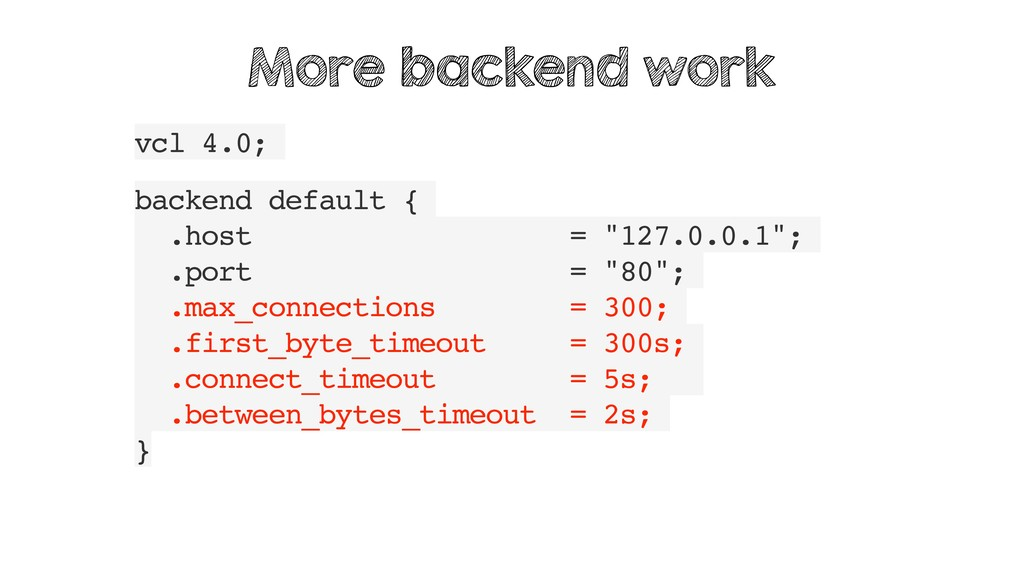 "vcl 4.0; backend default { .host = ""127.0.0.1"";..."