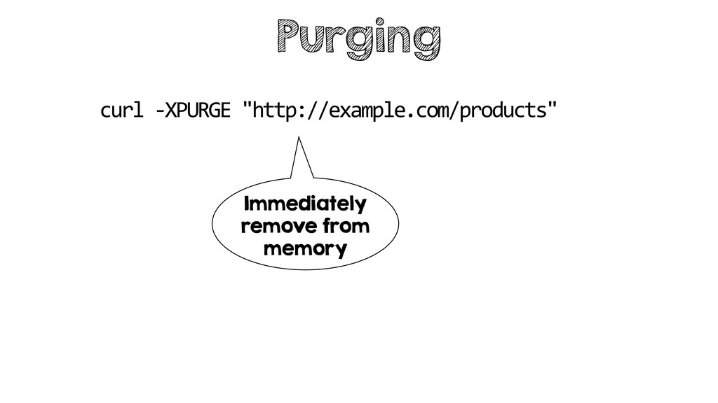 "Purging curl -XPURGE ""http://example.com/produc..."