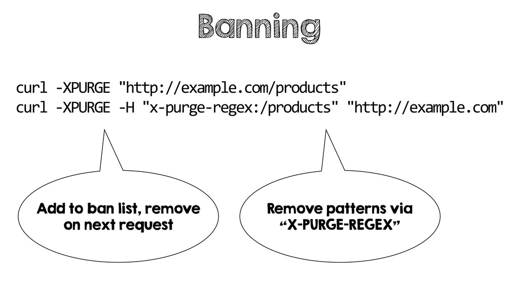 "Banning curl -XPURGE ""http://example.com/produc..."