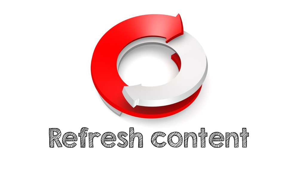 Refresh content
