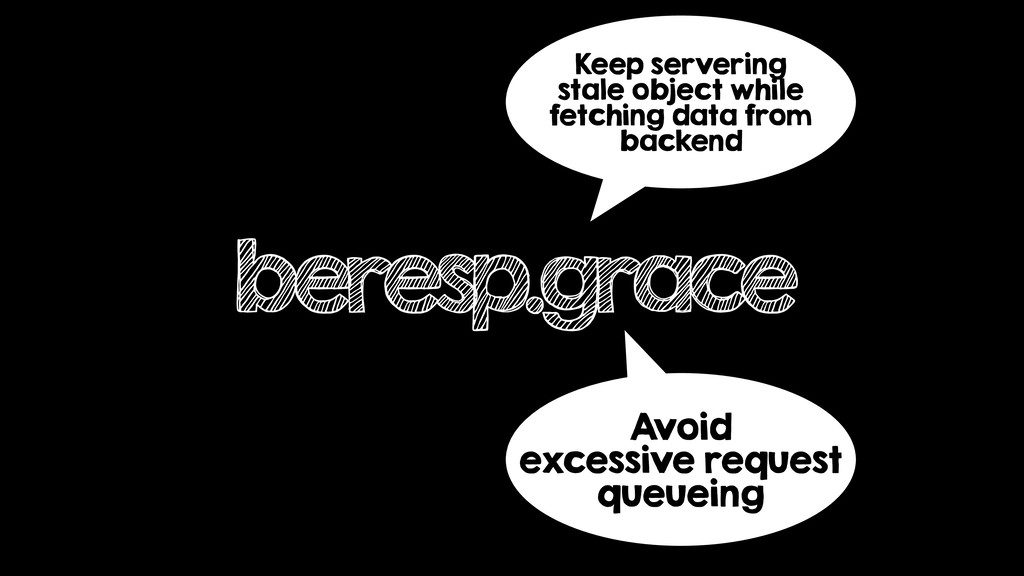 beresp.grace Keep servering stale object while ...