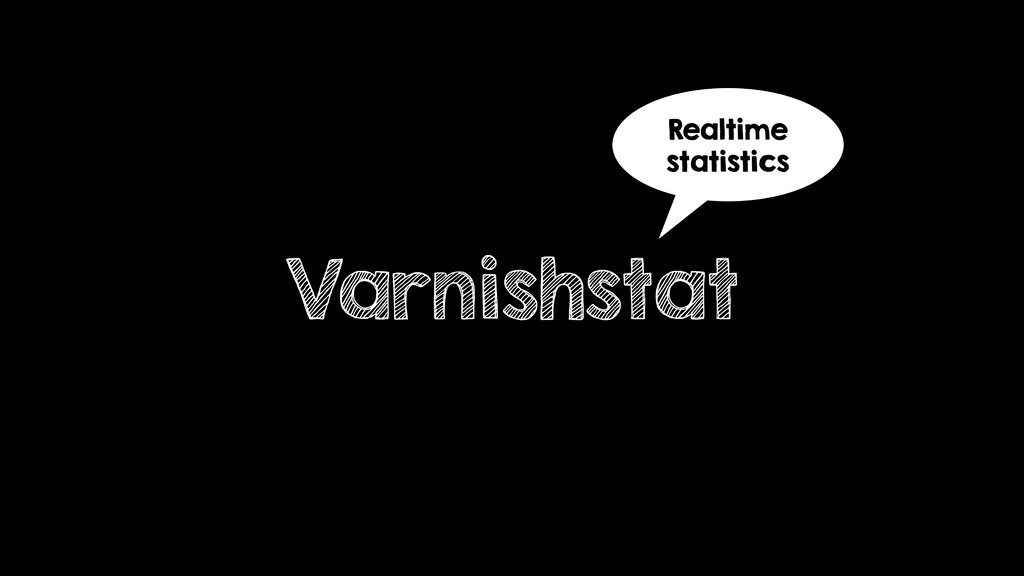 Varnishstat Realtime statistics