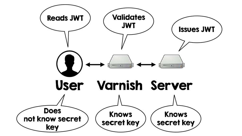 User Varnish Server Issues JWT Validates JWT Re...