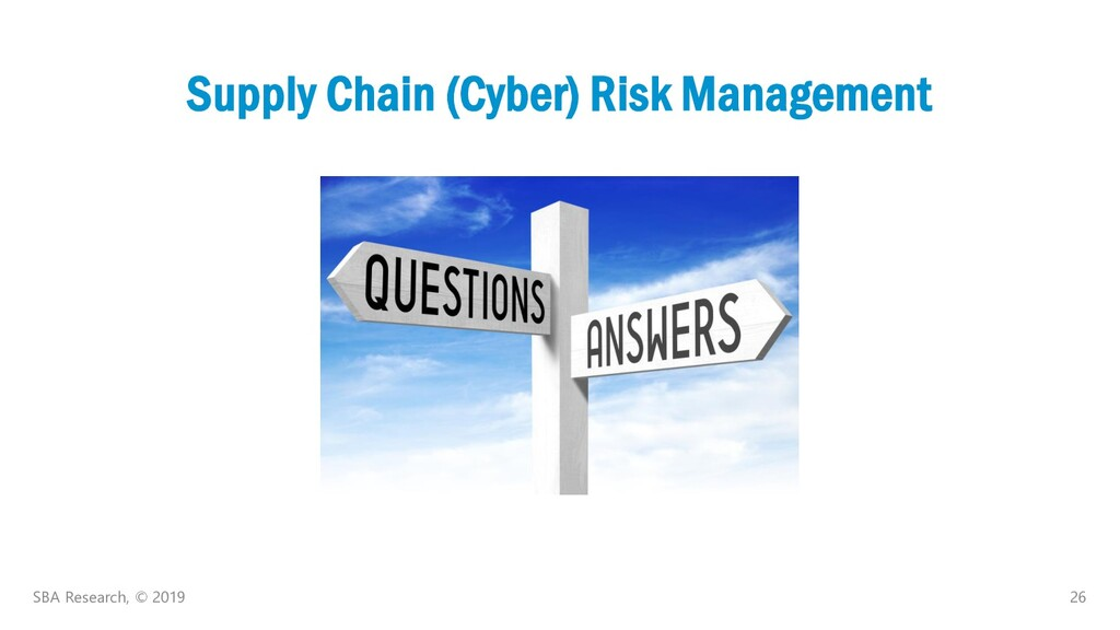 26 Supply Chain (Cyber) Risk Management SBA Res...