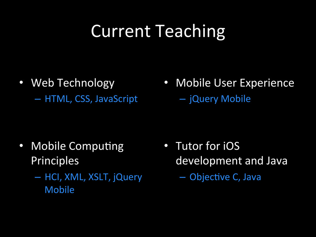 Current	